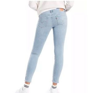 Levi's 711 Skinny Ankle Jeans size 25